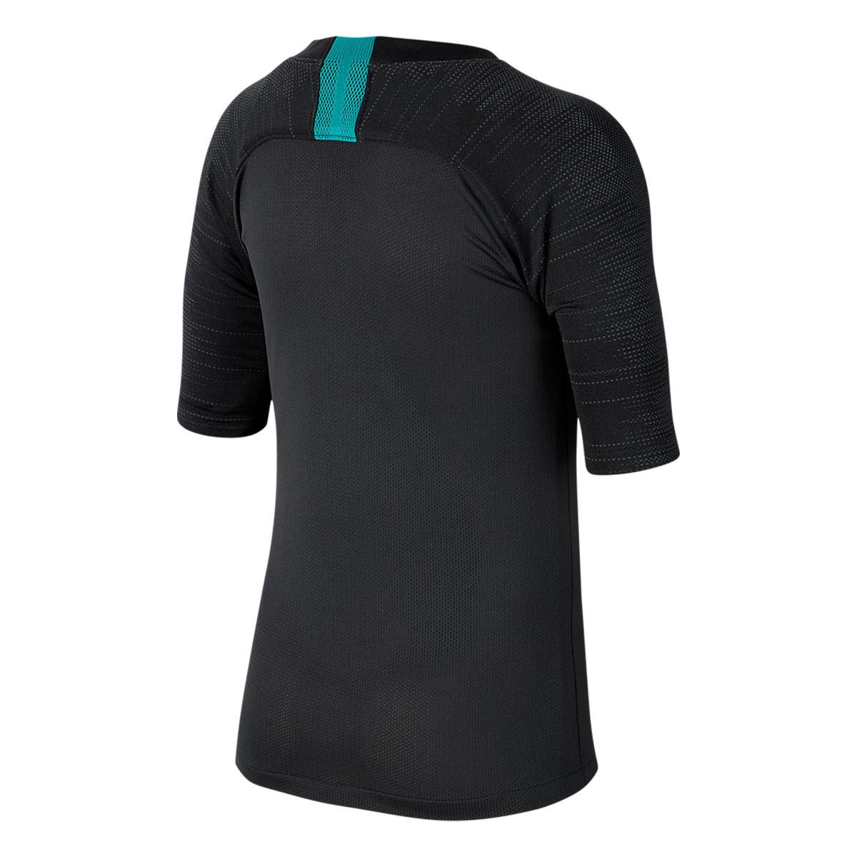 Camisa Barcelona Nike Treino Infantil Preto