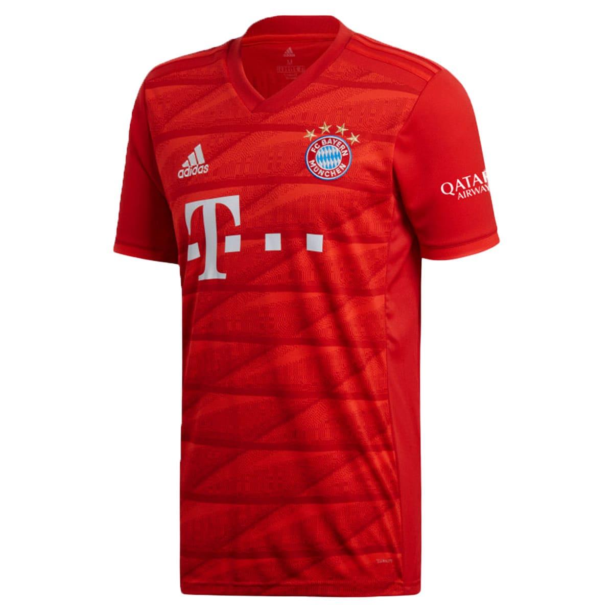 Camisa Bayern de Munique Adidas Of. I 19/20 - Vermelho