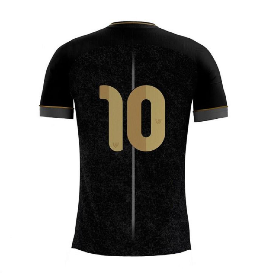 Camisa Ceará Vozão Of. 3 20/21 N° 10 Masculino Preto