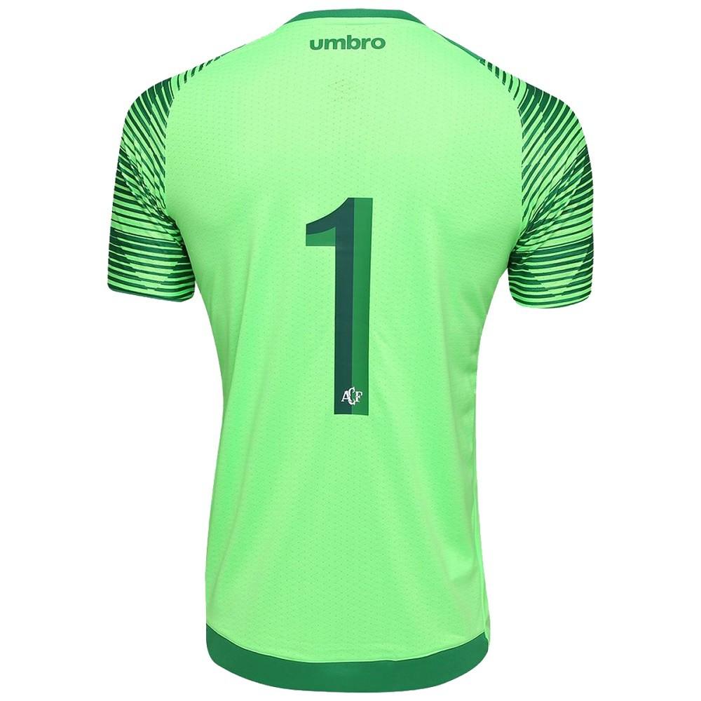 Camisa Chapecoense Goleiro 17-18 N1 Torcedor Umbro Masculina