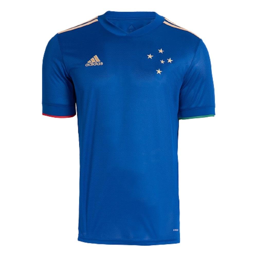Camisa Cruzeiro Adidas Of.1 21/22 s/n° Masculino