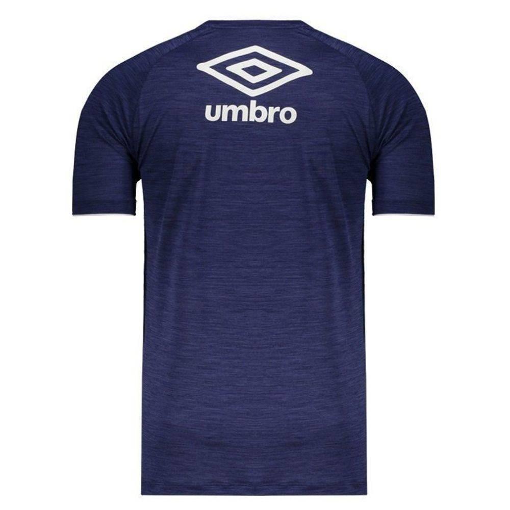 Camisa Cruzeiro Aquecimento Masculina 2018-19 - Umbro