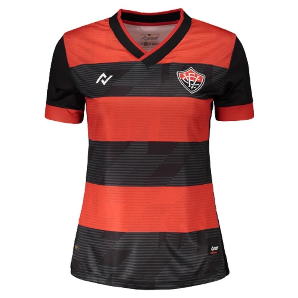 Camisa do EC Vitória OF 21/22 Nego Feminino
