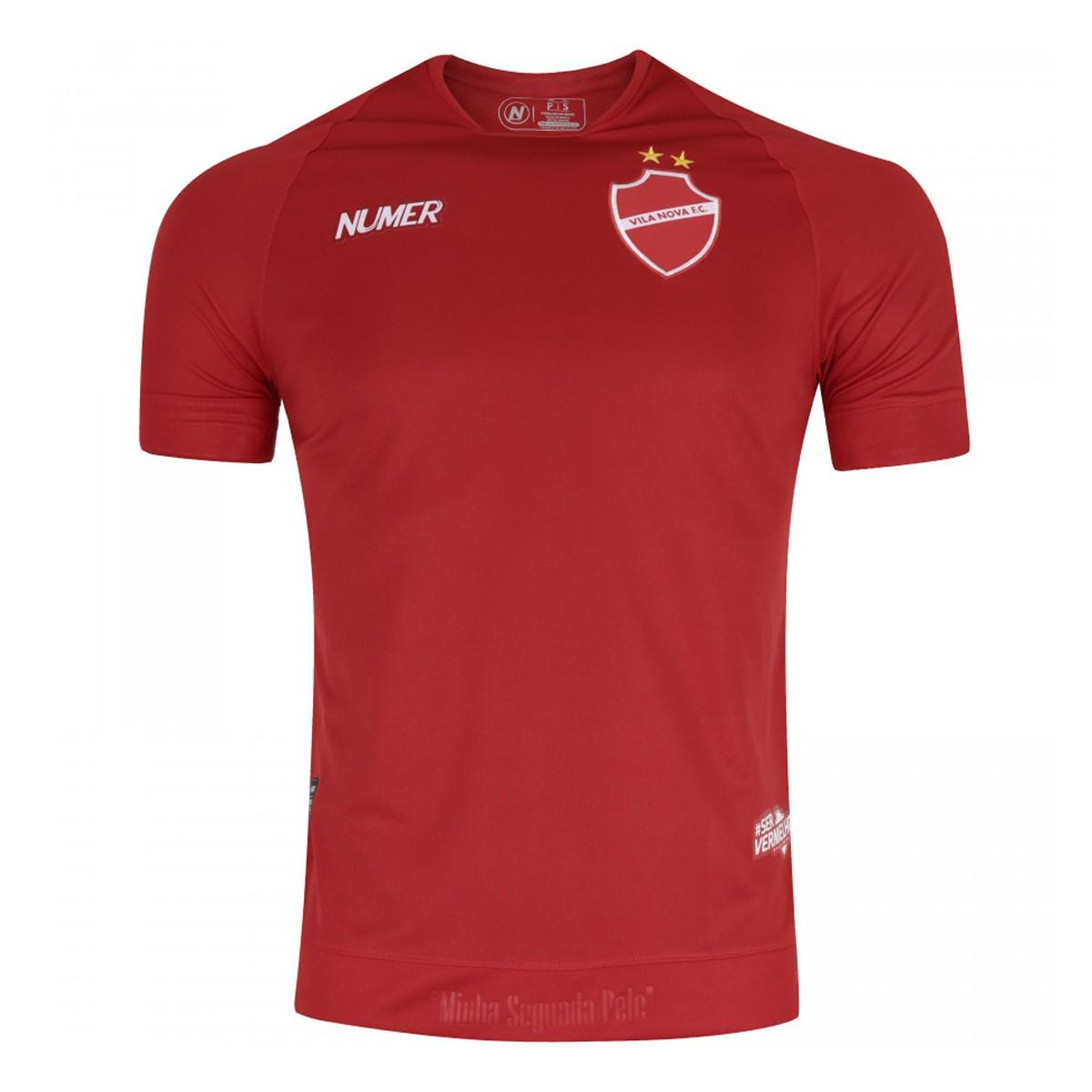 Camisa do Vila Nova I 2019 nº 10 Numer - Masculina