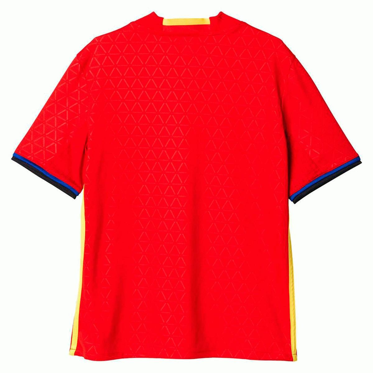 Camisa Espanha Adidas 2016-2017 - Vermelho - Masculino