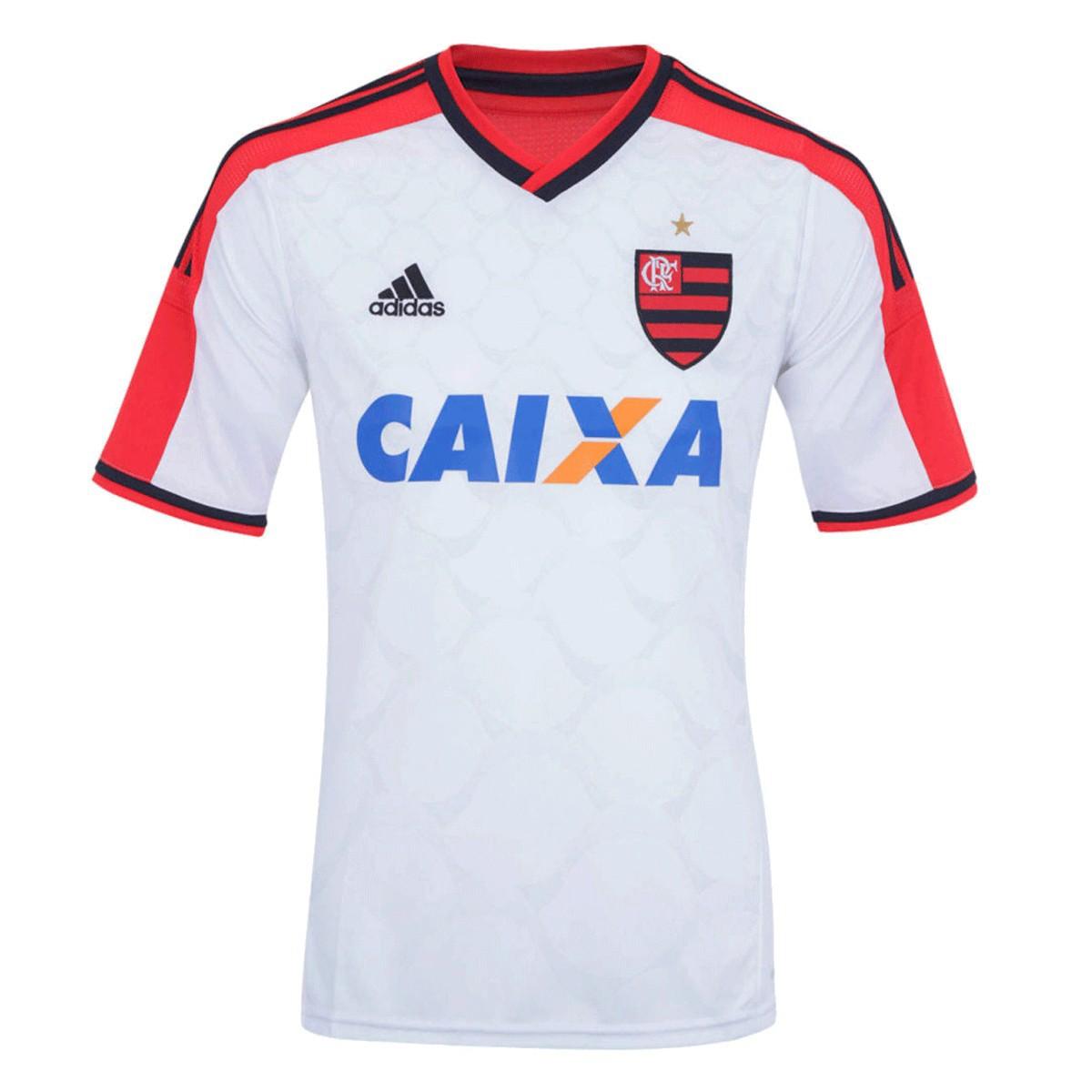 Camisa Flamengo Adidas Away Infantil 2014