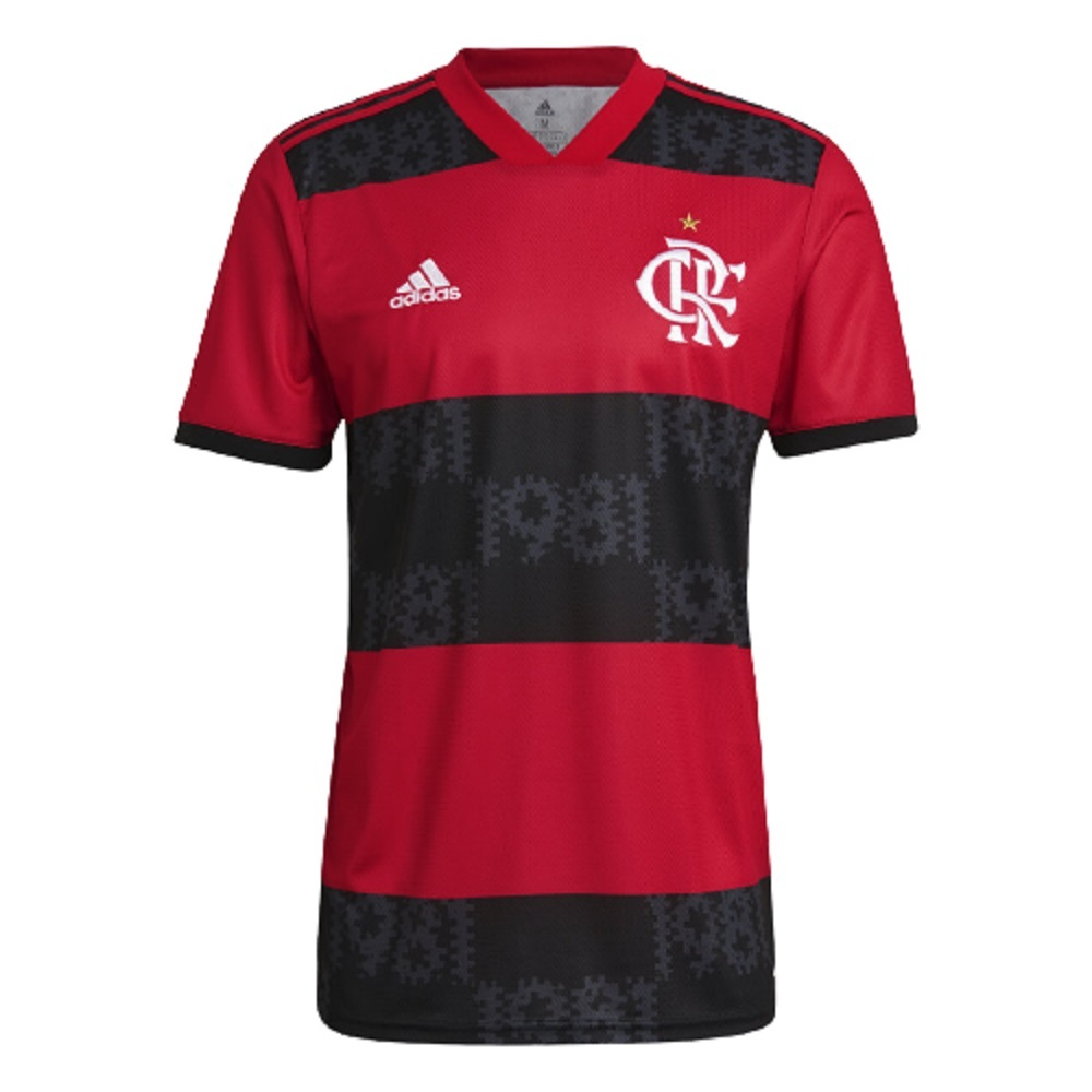 Camisa Flamengo Adidas Of.1 21/22 s/n° Masculino