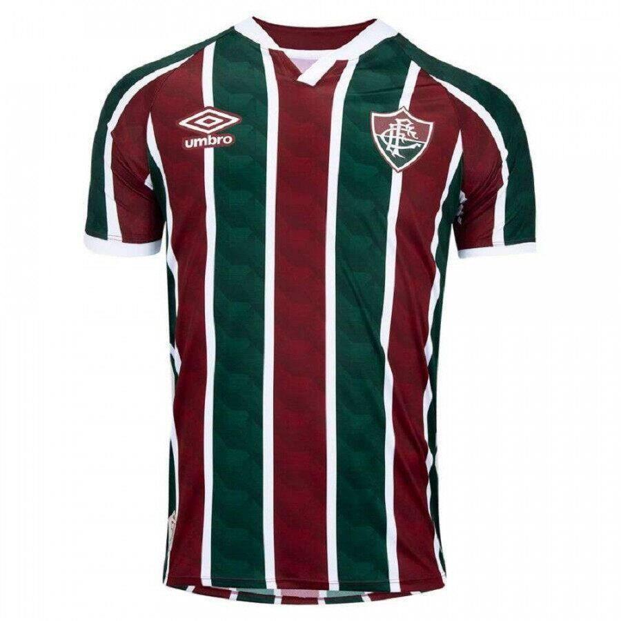 Camisa Fluminense Umbro Of.1 Masculino 20/21
