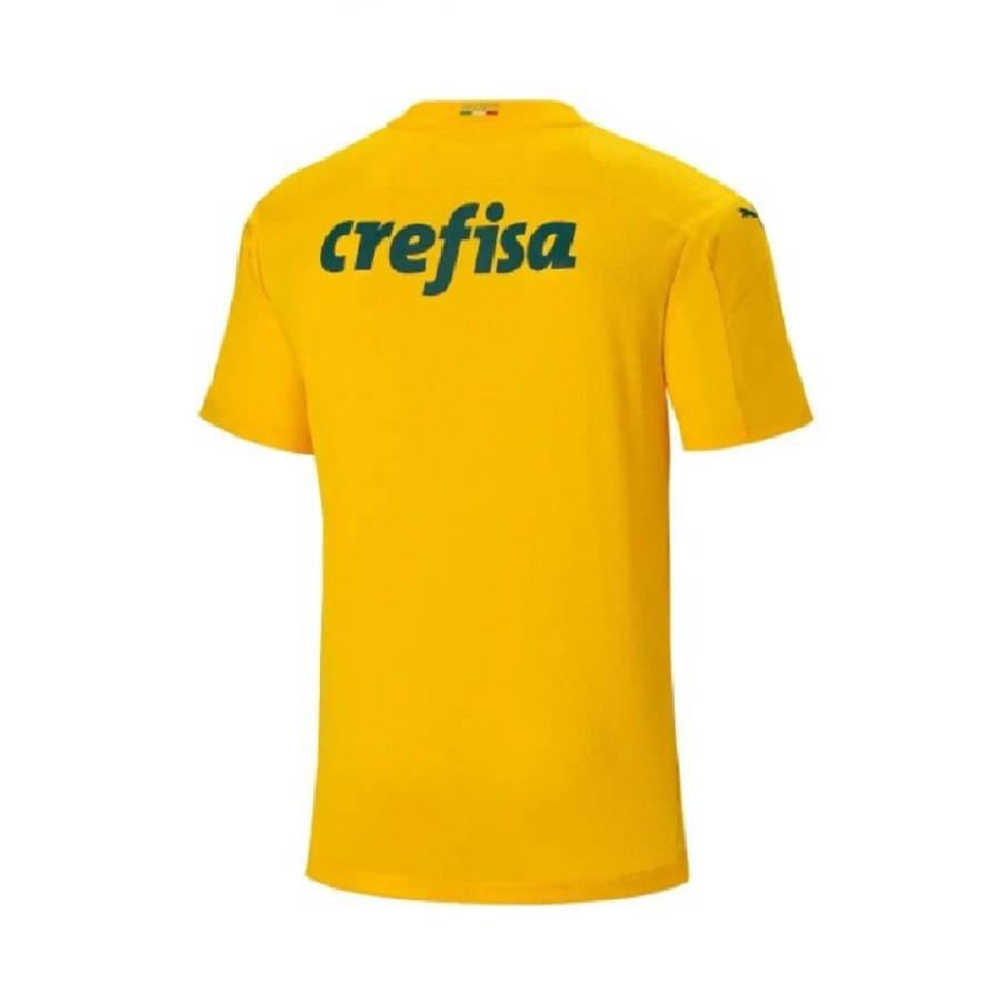 Camisa Goleiro Palmeiras Of.1 20/21 s/n° Torcedor Puma Masculina Amarelo