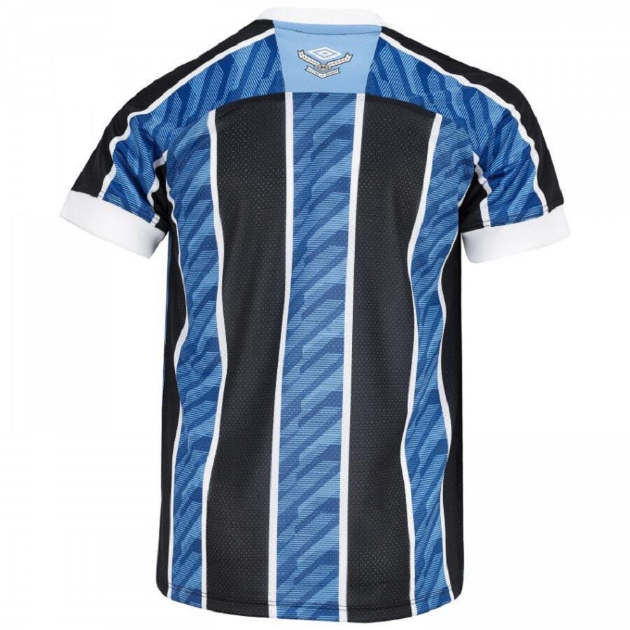 Camisa Grêmio Umbro Of. 1 2020 Infantil