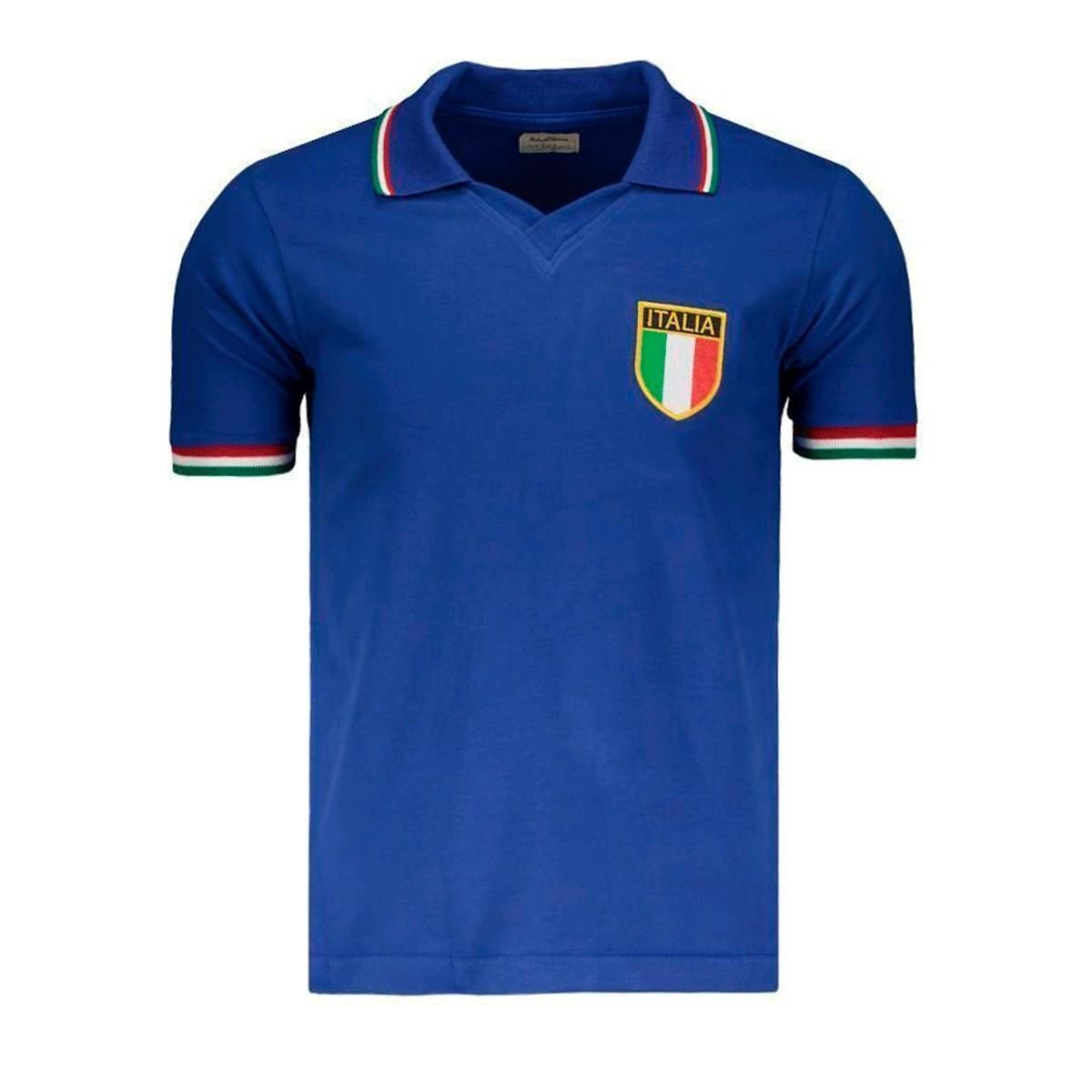 Camisa Itália 1982 Retrô