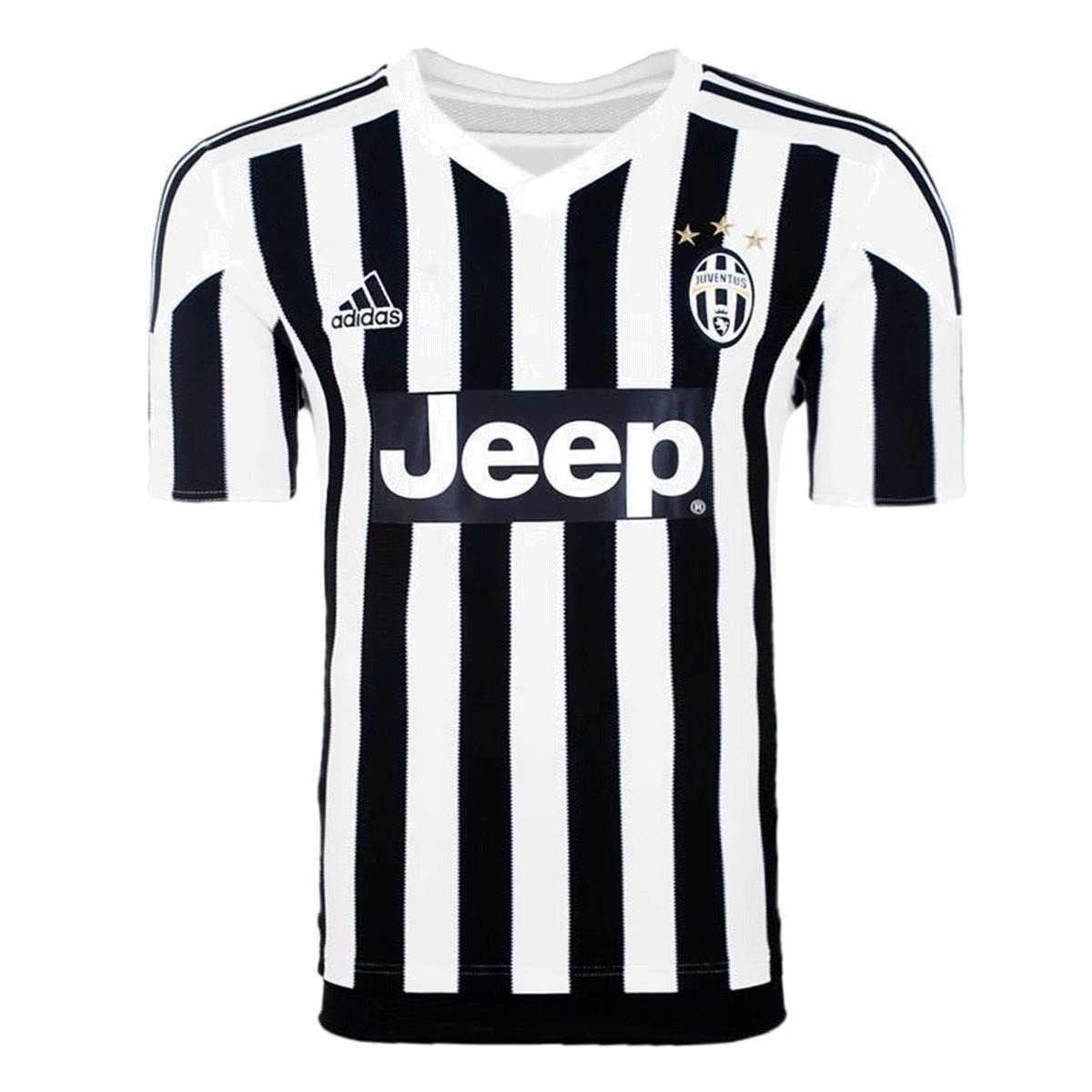 Camisa Juventus Adidas Home Infantil 2015 2016