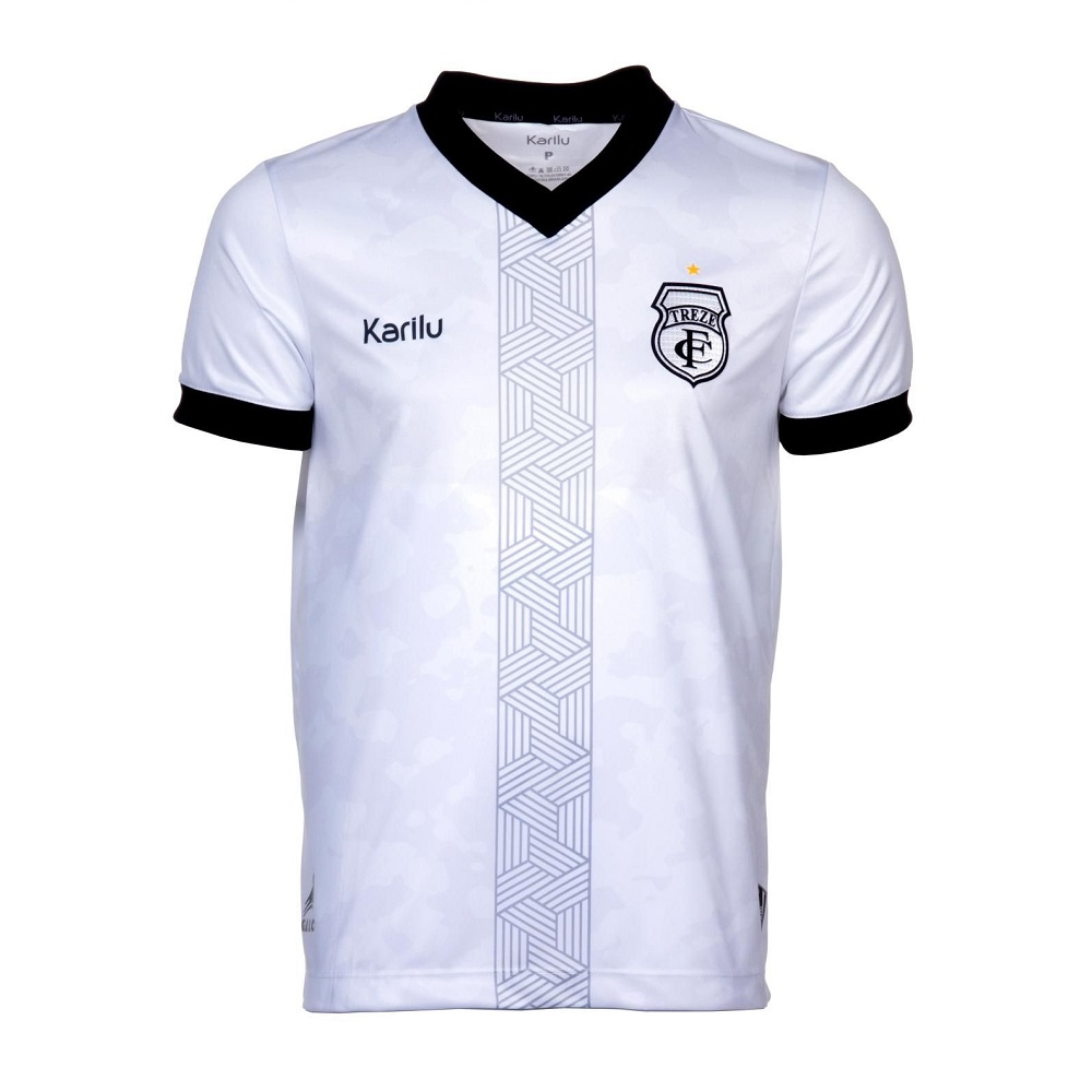 Camisa Karilu Treze FC Of.2 S/Patrocínio 21/22 Masculino