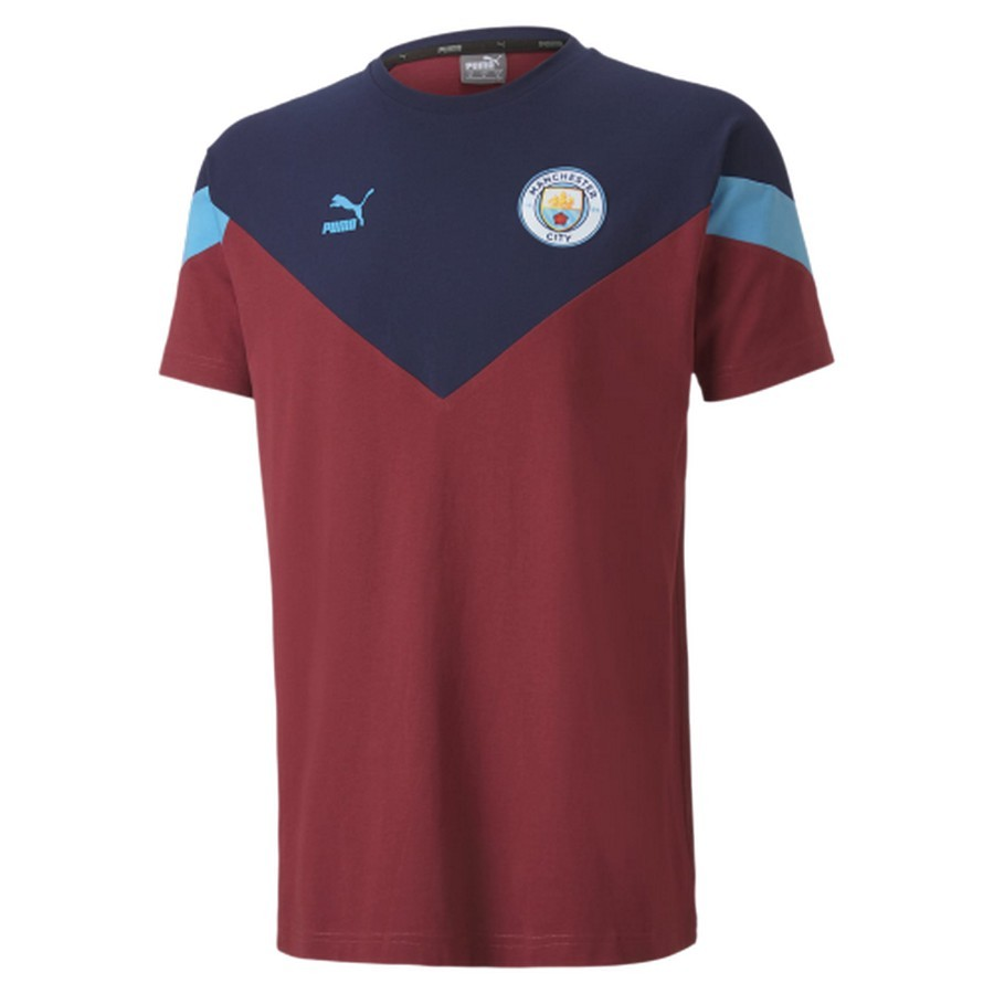 Camisa Manchester City Puma Iconic MCS Tee Masculino