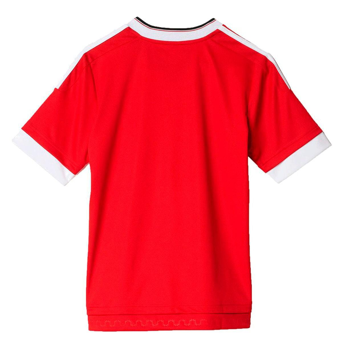 Camisa Manchester United Adidas 2016 2017 - Infantil