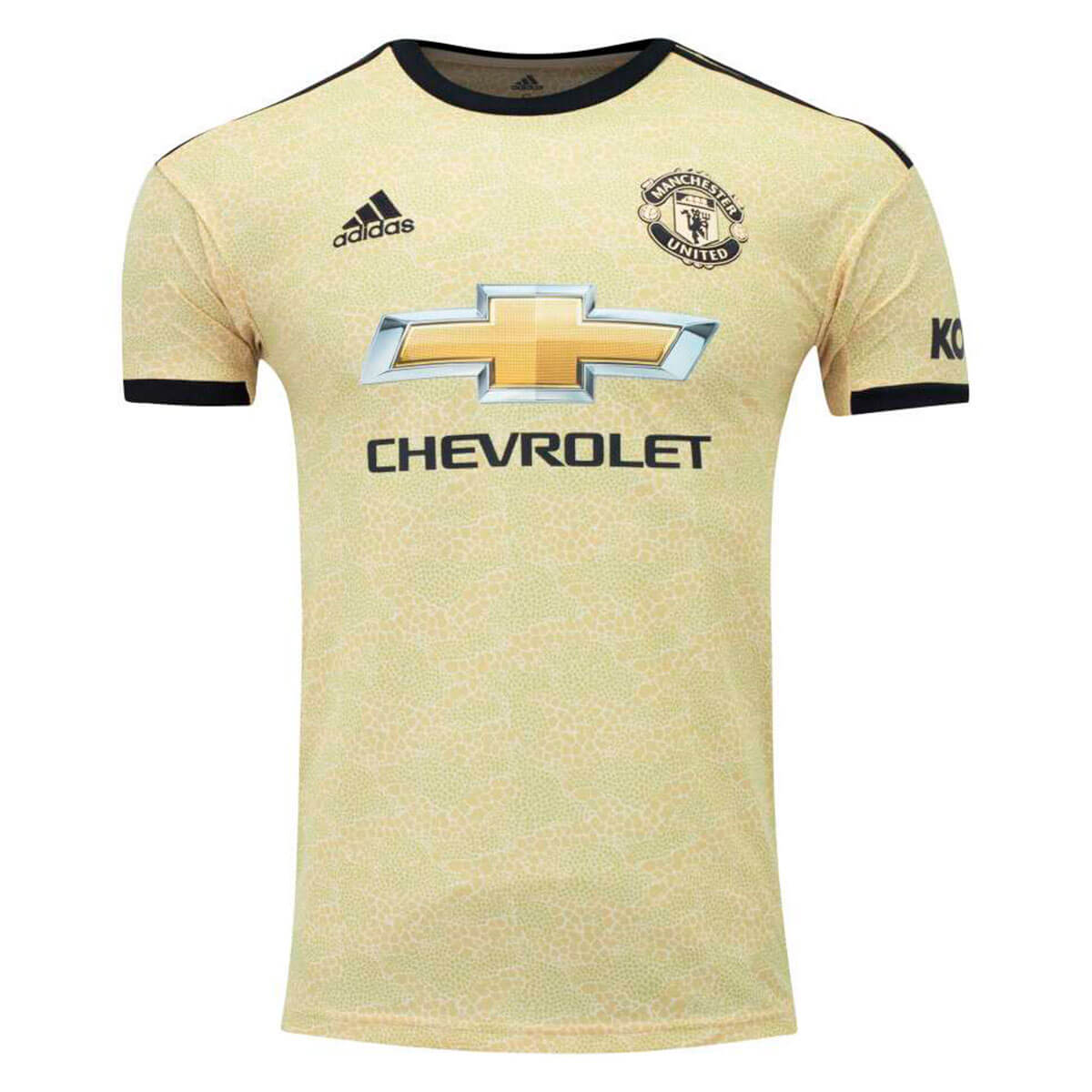 Camisa Manchester Untd Adidas Of 2 Masculino - Dourado