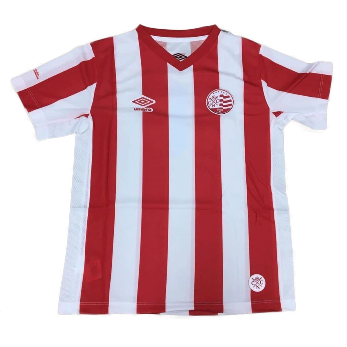 Camisa Náutico Umbro Infantil 2014 Vermelho Branco