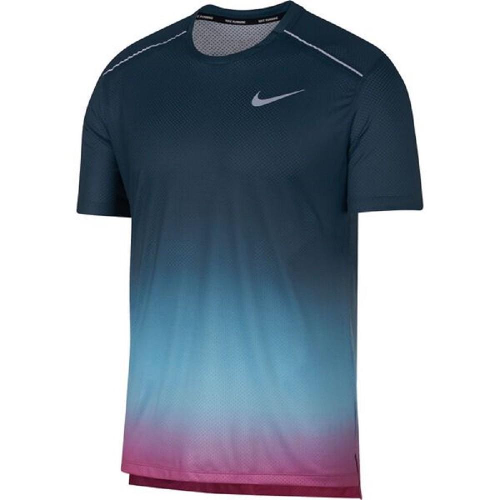 Camisa Nike Dry Miler SS PR Masculino Verde