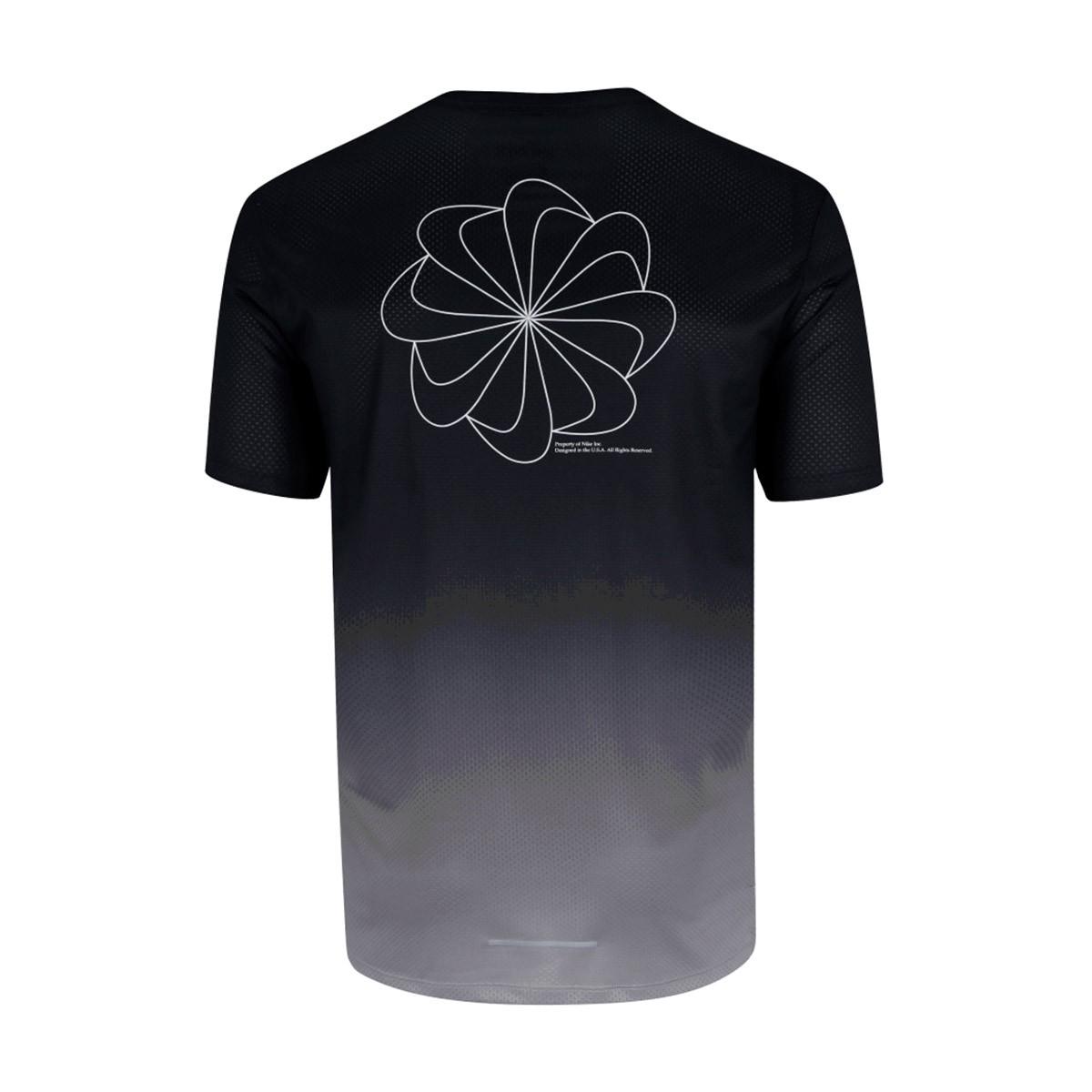 Camisa Nike Dry Miler SS PR Preto Degradê