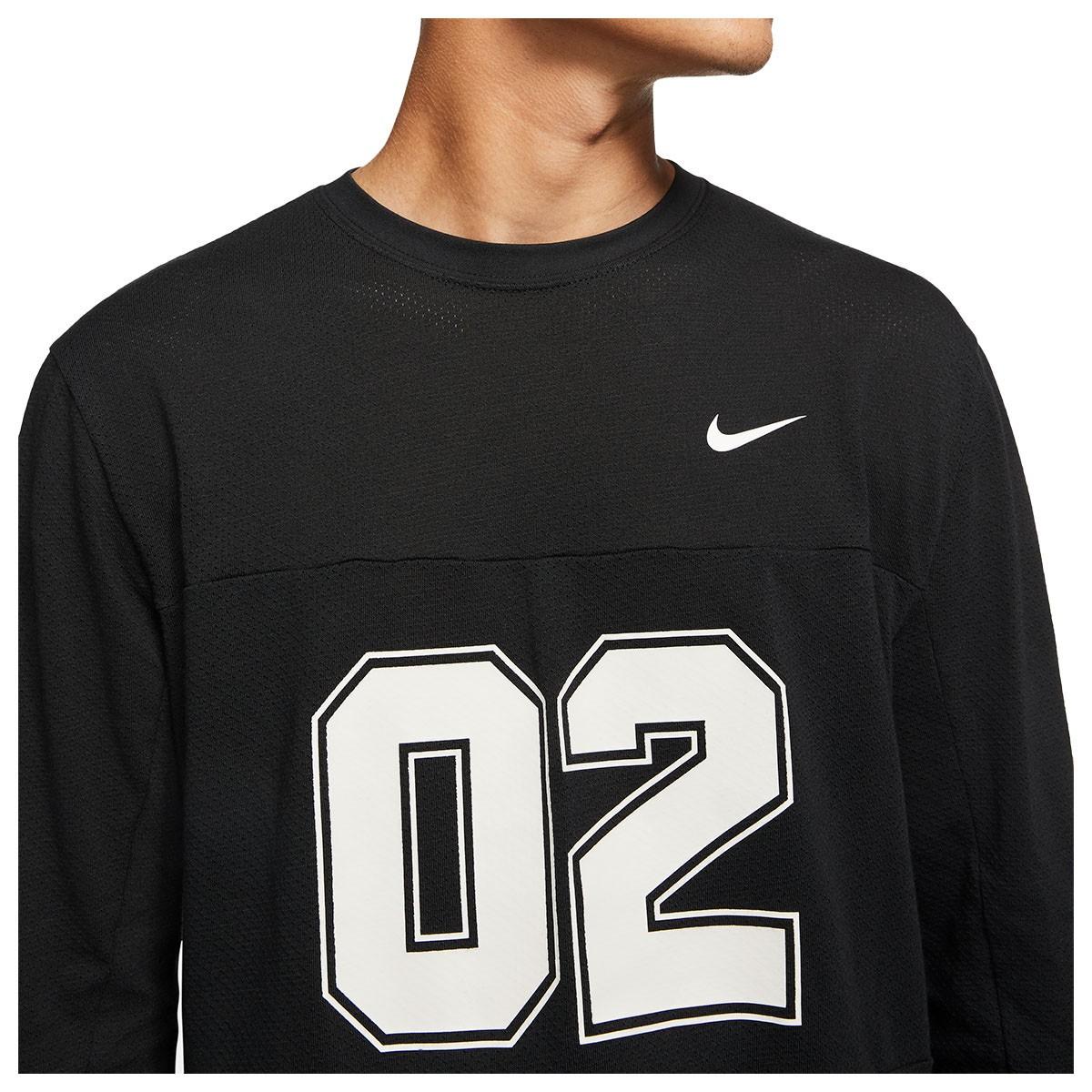 Camisa Nike SB Manga Longa Mesh nº 2 Preto