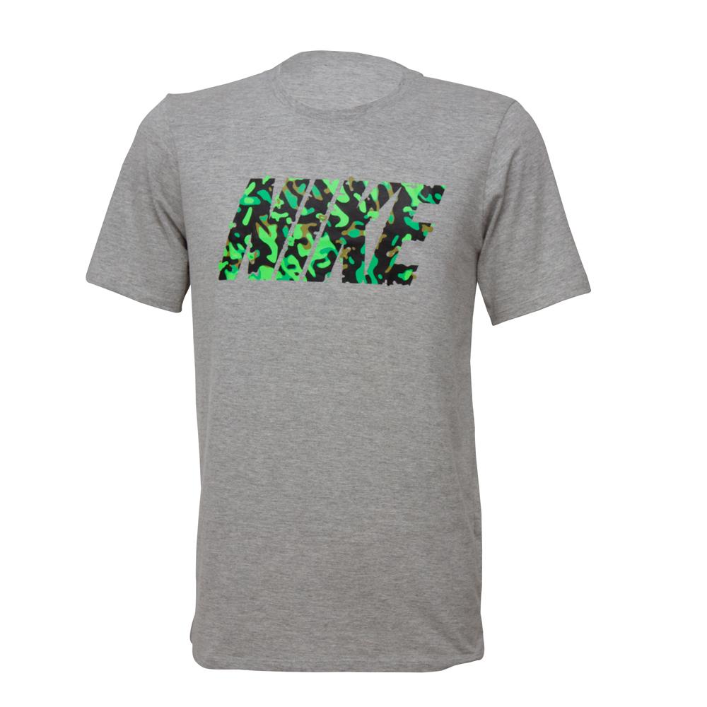 Camisa Nike Tee Masculino Cinza
