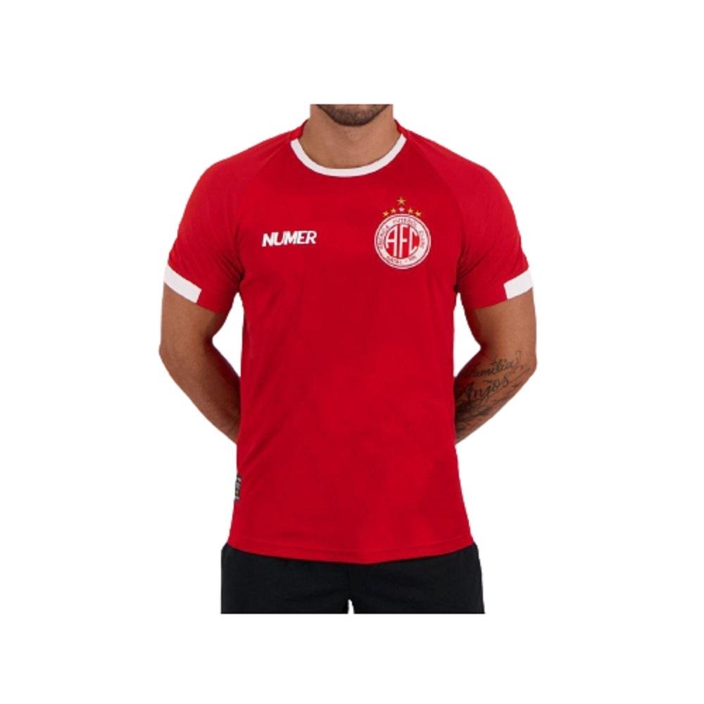 Camisa Numer América RN Pré Jogo 20/21 Masculino