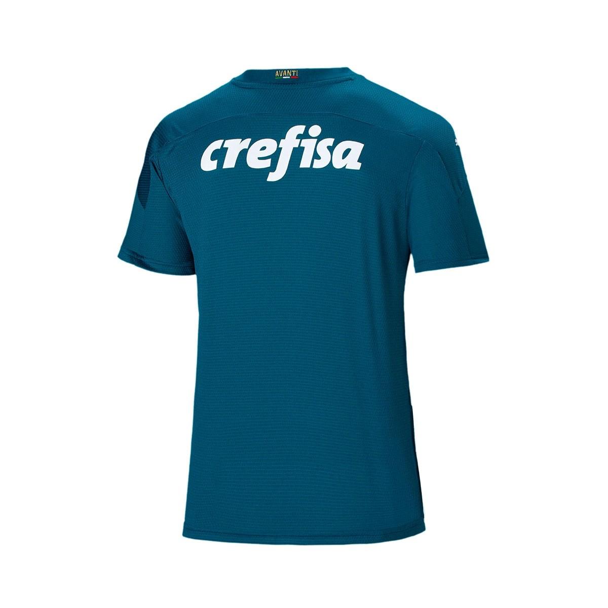 Camisa Palmeiras Puma Goleiro II 20/21 Azul