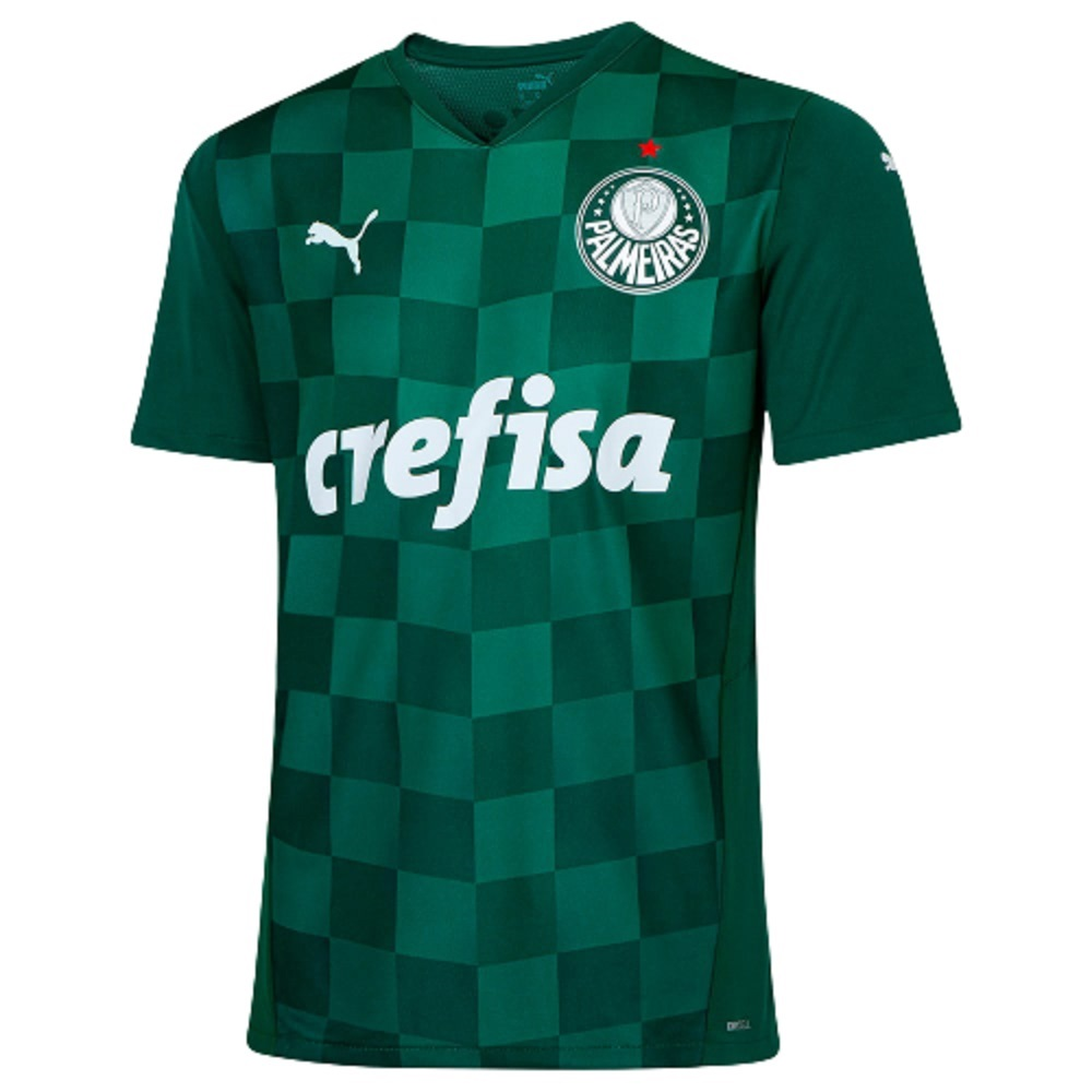 Camisa Palmeiras Puma Home 21/22 Masculino