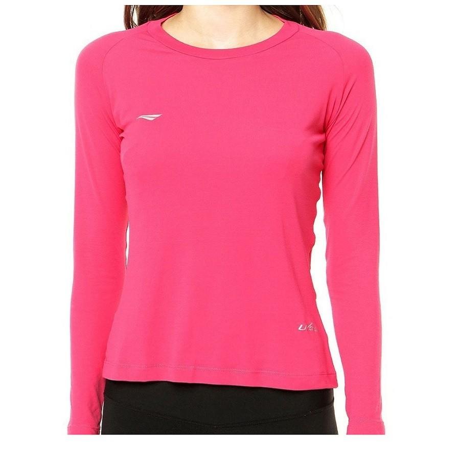 Camisa Penalty UV Feminino Rosa