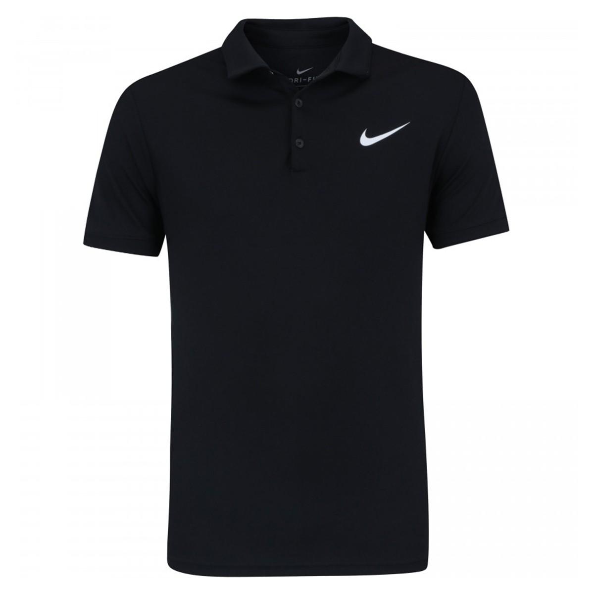 Camisa Polo Nike Dry Team - Preto - Masculina