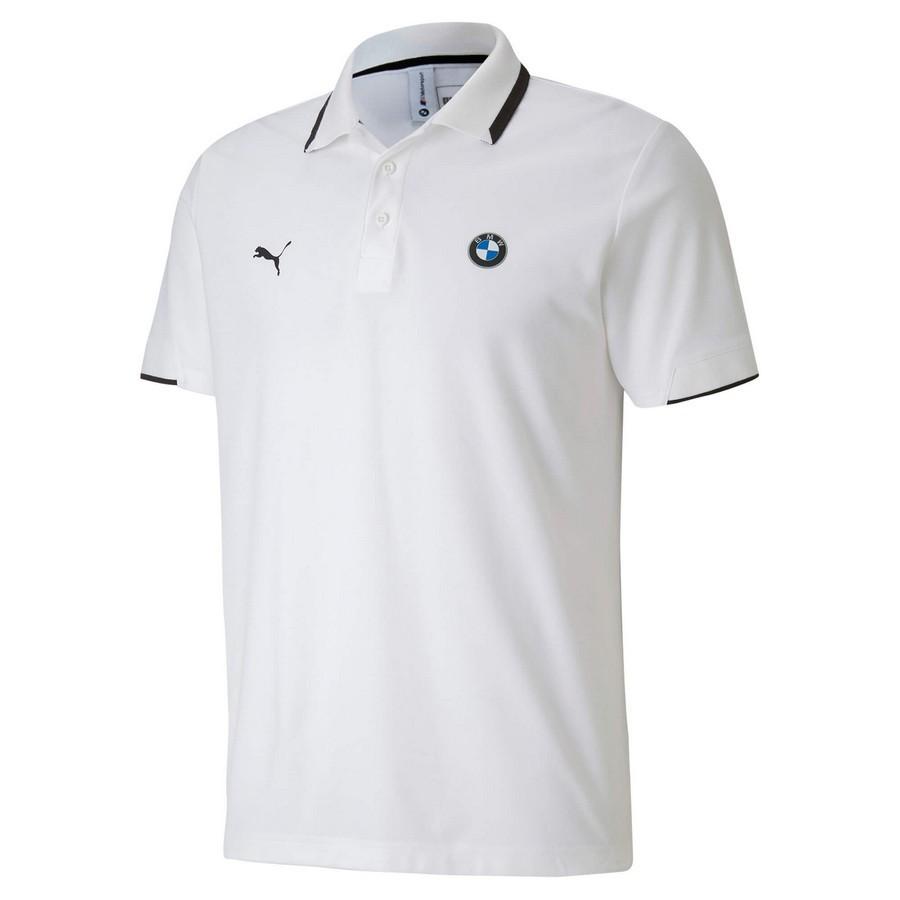 Camisa Pólo Puma BMW MMS Masculino Branco