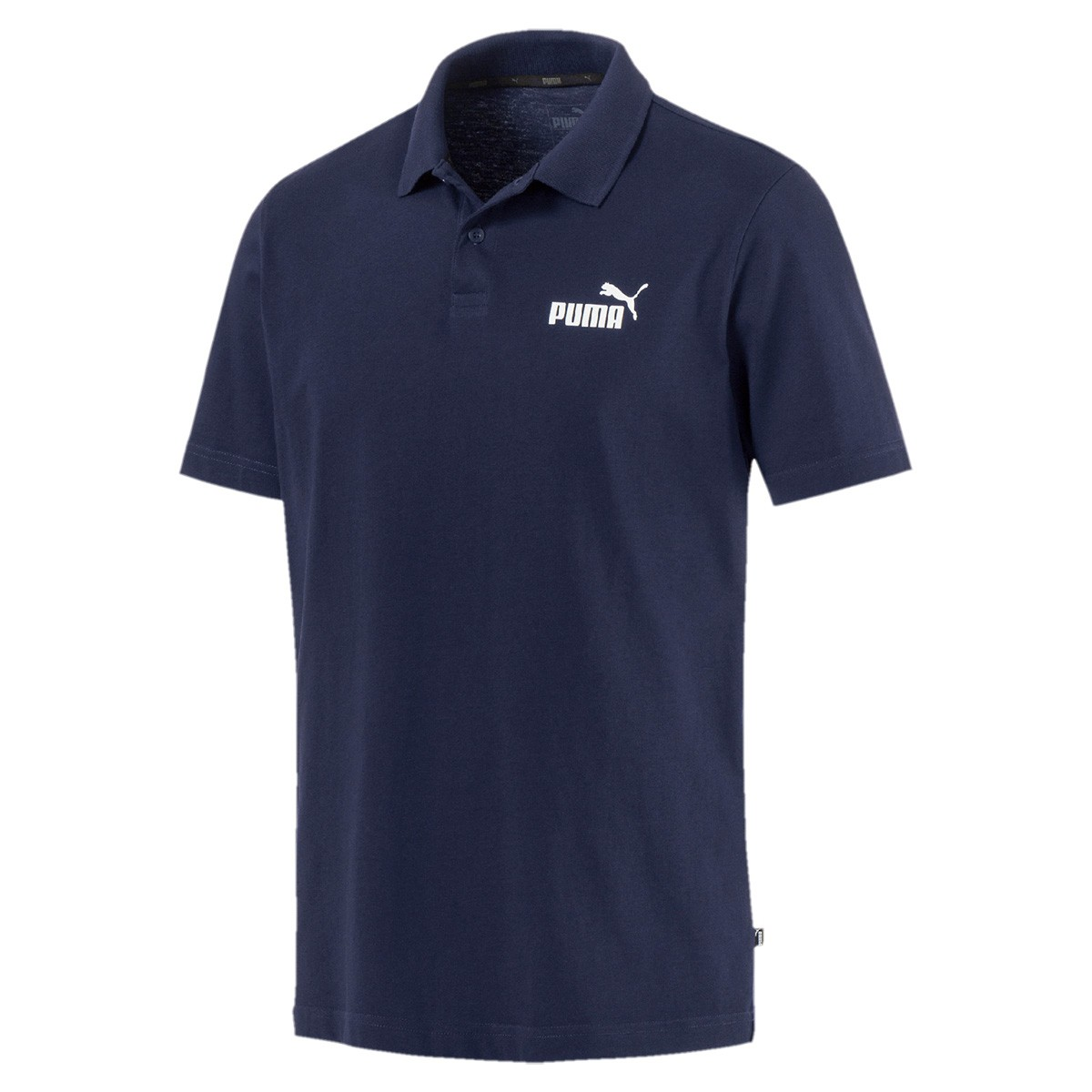 Camisa Polo Puma ESS Jersey Masculina Azul Marinho