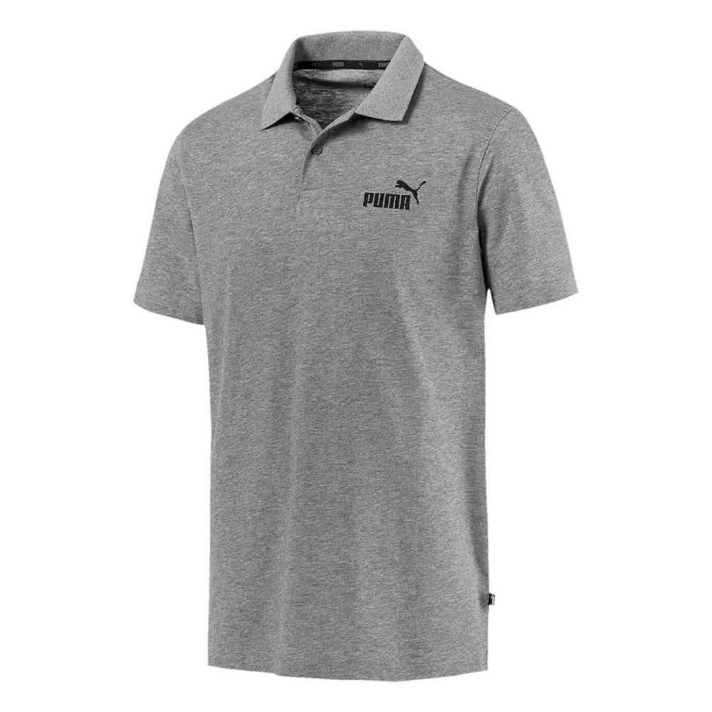 Camisa Polo Puma ESS Jersey Masculina - Cinza