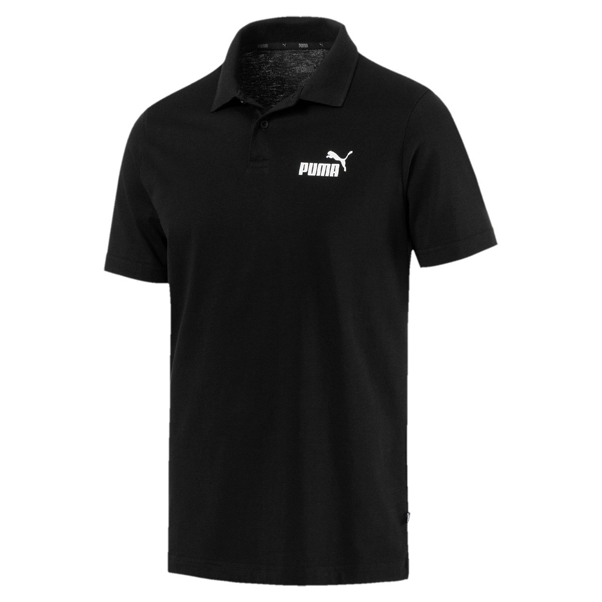 Camisa Polo Puma ESS Jersey Masculina Preto