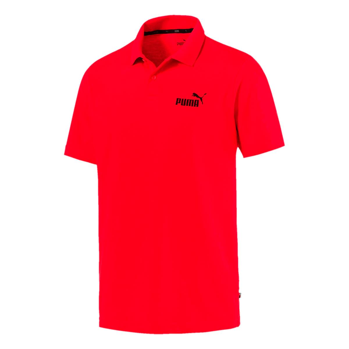 Camisa Polo Puma ESS Jersey Masculino Vermelho