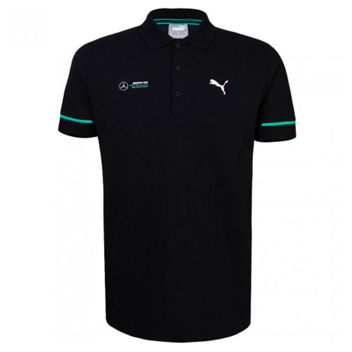 Camisa Polo Puma Mercedes AMG Petronas Masculina - Preto