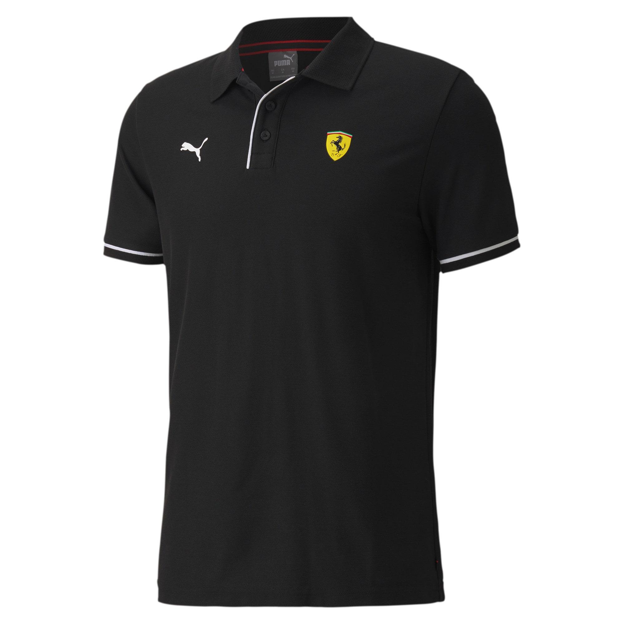 Camisa Polo Puma Scuderia Racing Ferrari Masculino Preto