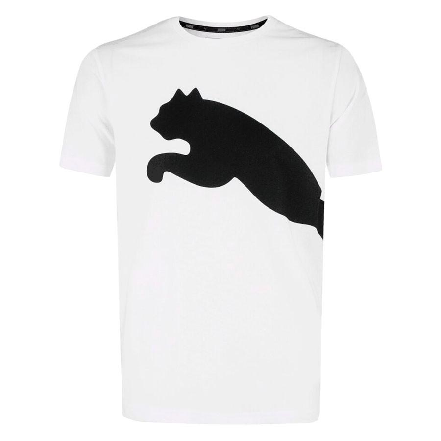 Camisa Puma Big Logo Tee Masculino Branco