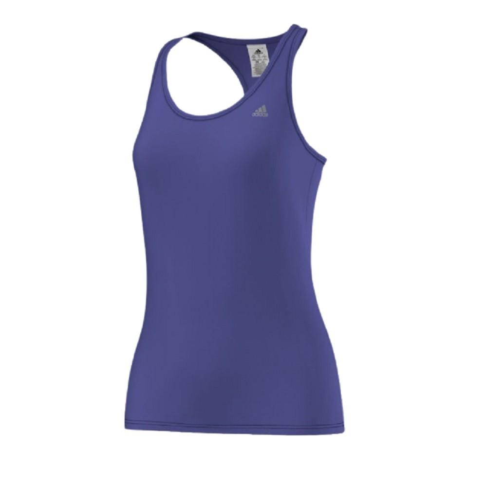 Camisa Regata Adidas Ess Clima Lw Feminino Azul