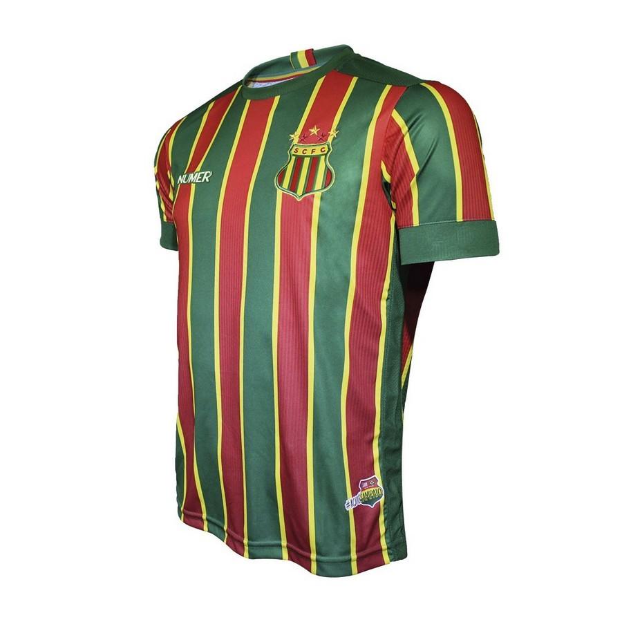 Camisa Sampaio Corrêa Numer Of. I 20/21 SN