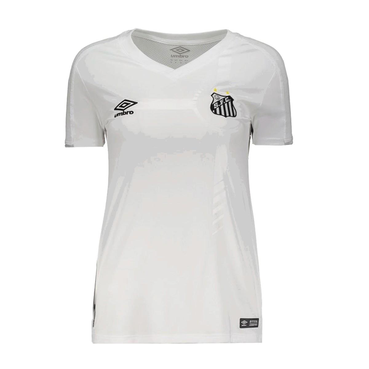 Camisa Santos Umbro Home Feminino 19 20