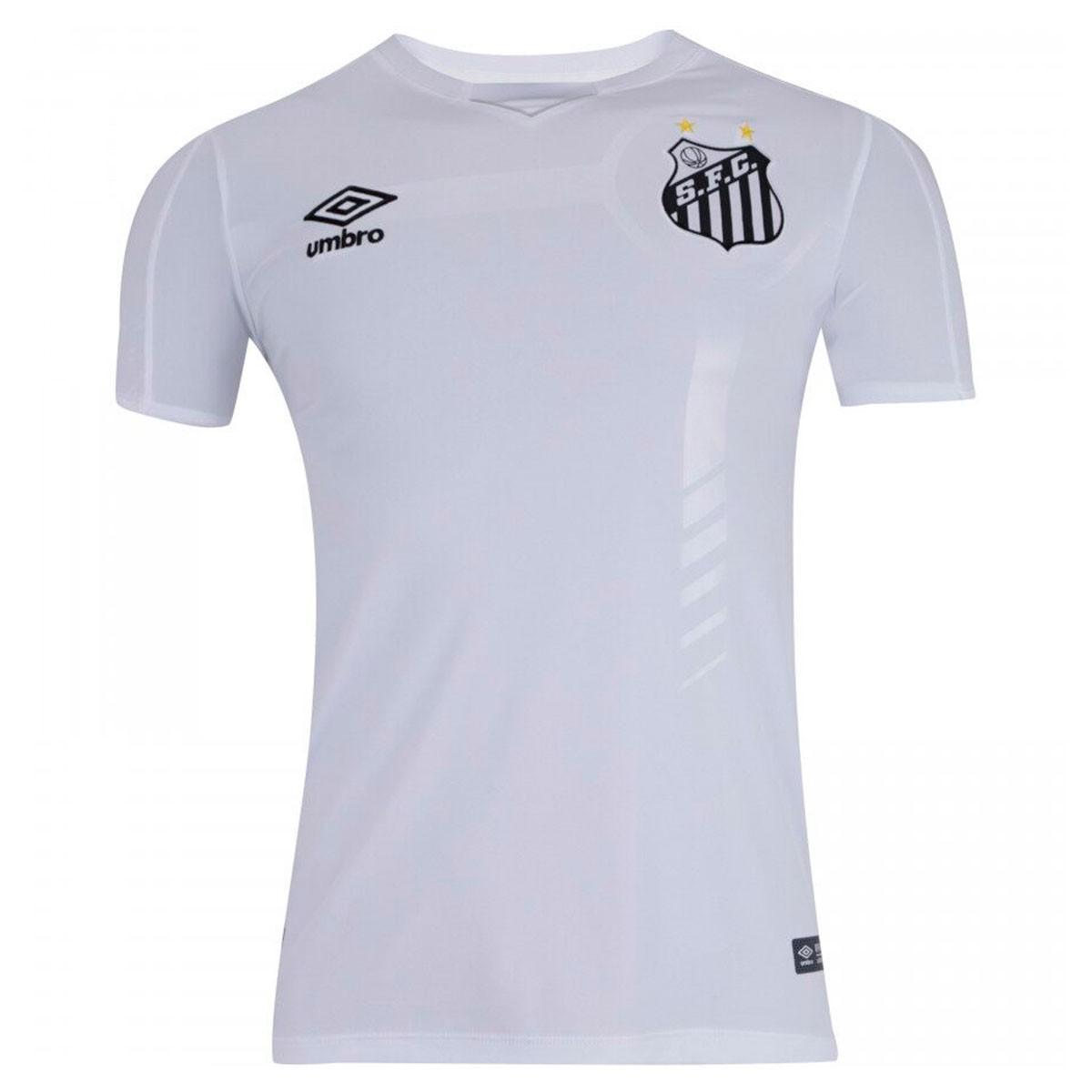 Camisa Santos Umbro Oficial I 2019/20 S/N - Masculina