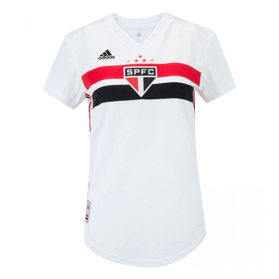 Camisa São Paulo Adidas Home 2019 Feminino Branco