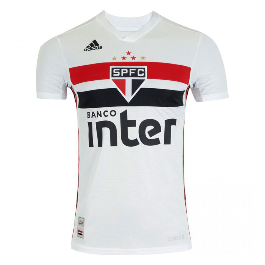Camisa São Paulo Adidas Home 2019 Masculino Branco