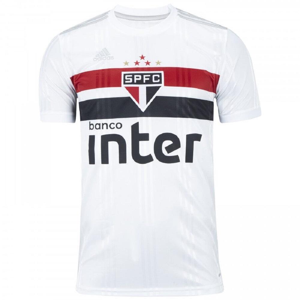 Camisa São Paulo Of. 1 20/21 Adidas Masculina Branca