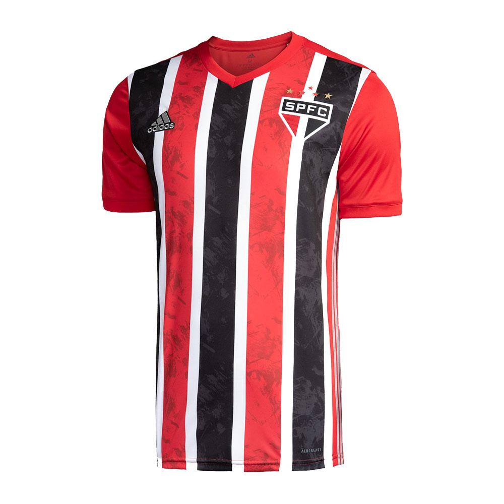 Camisa São Paulo Of. 2 20/21 s/nº Torcedor Adidas Masculina