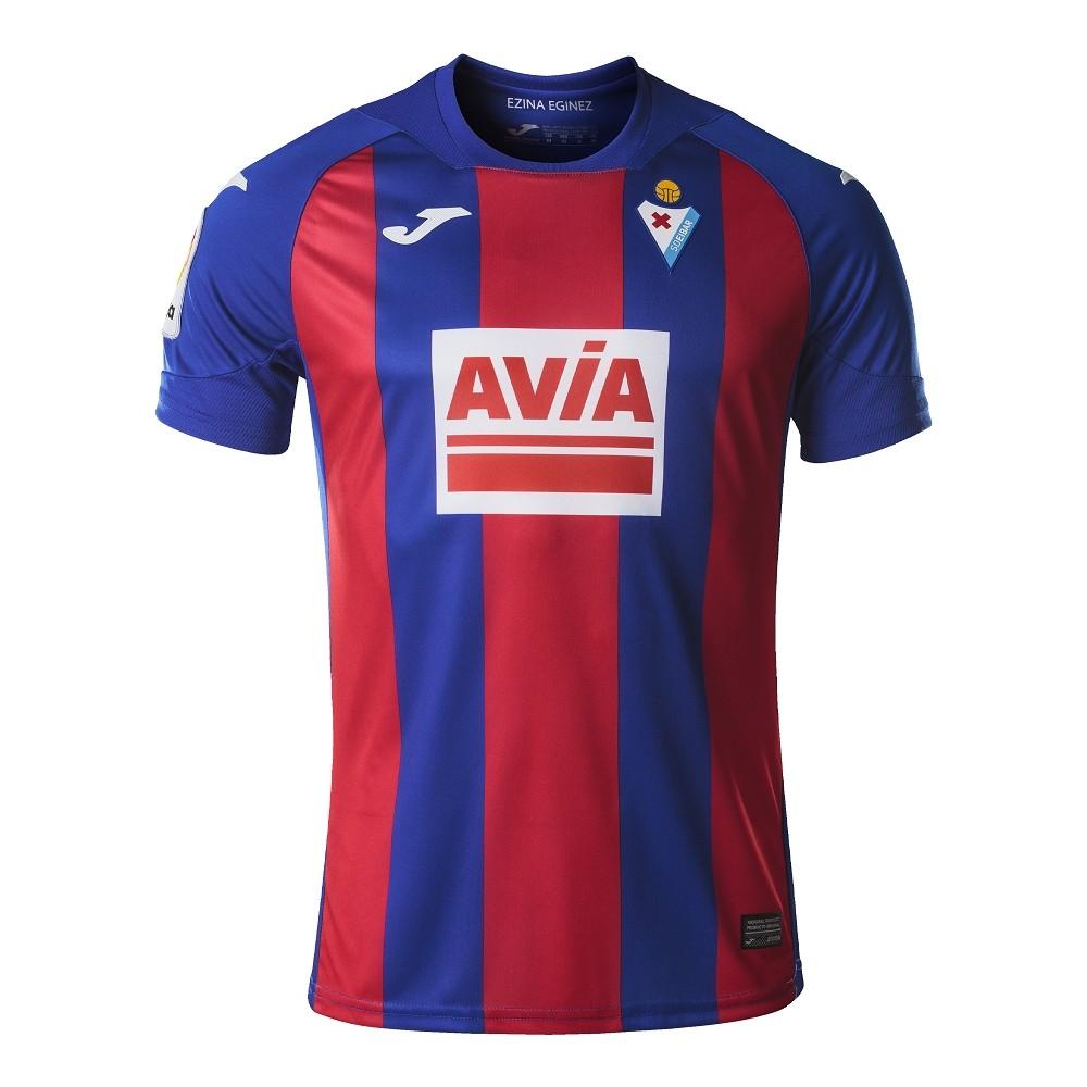 Camisa SD Eibar Joma Home 2021 Masculino