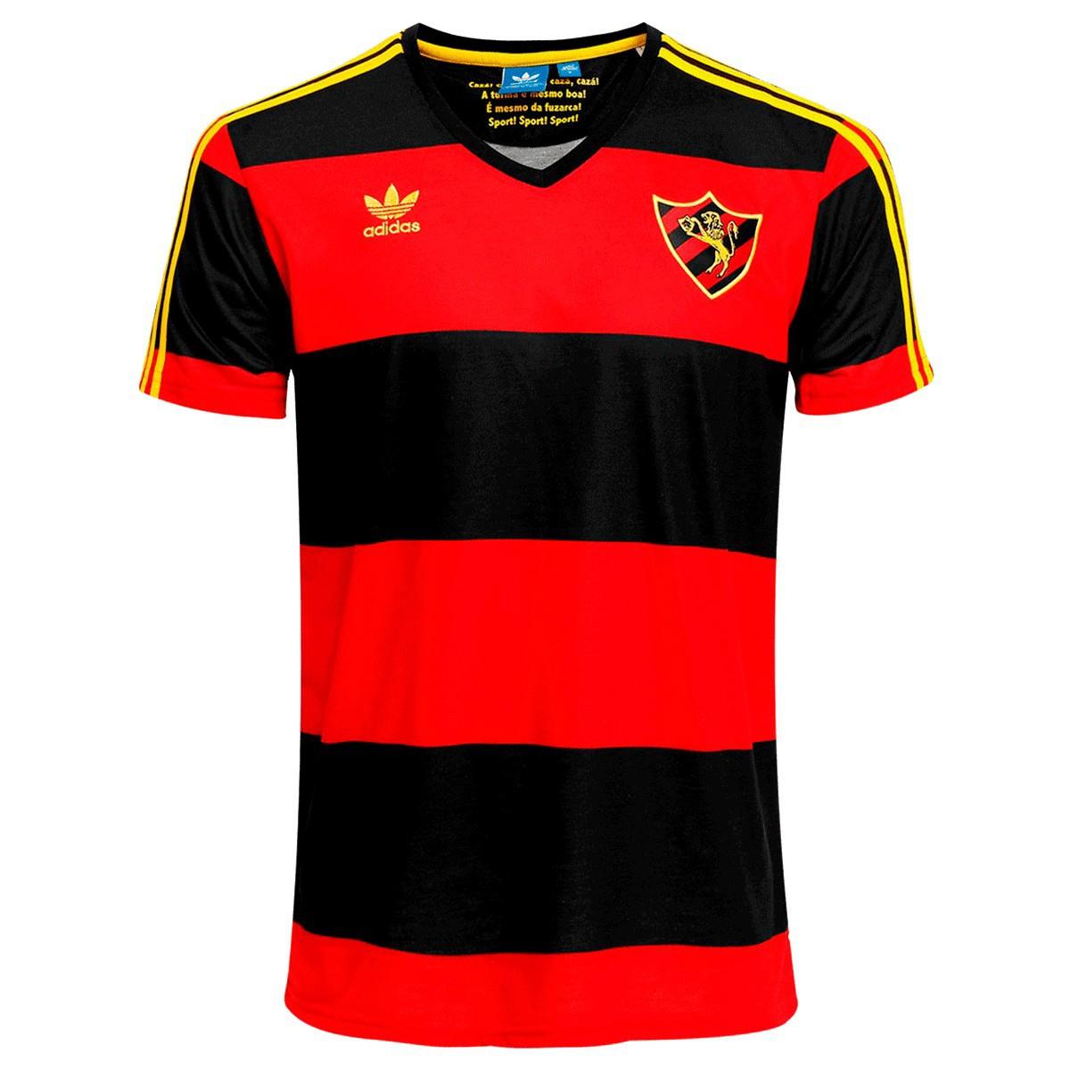 Camisa Sport Recife Adidas Comemorativa 110 anos