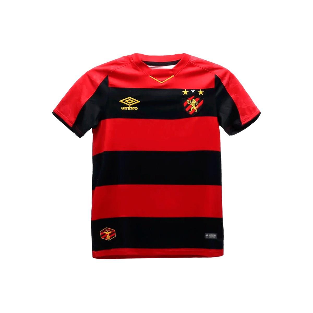 Camisa Sport Recife Umbro Home Infantil 2019