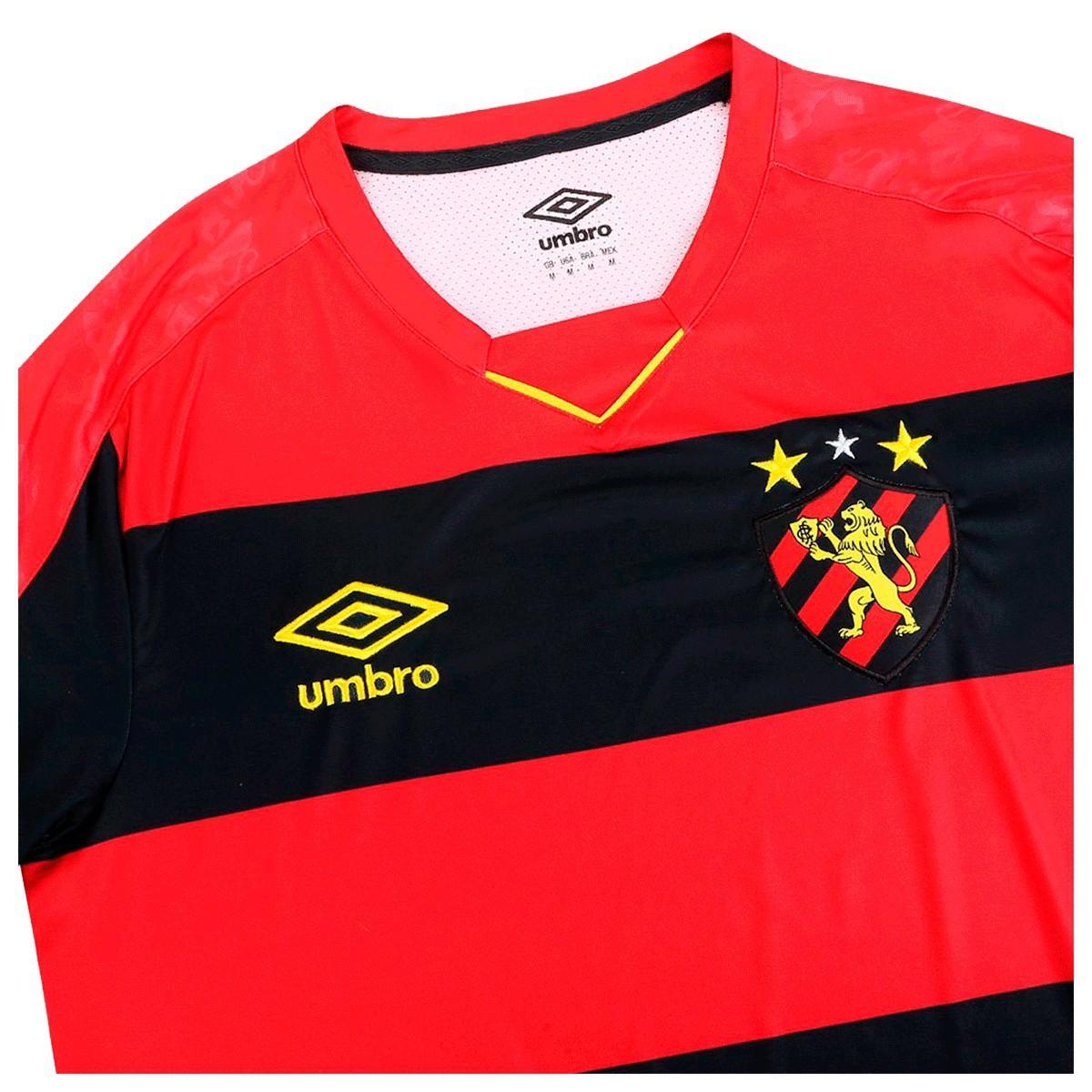 Camisa Sport Recife Umbro Home Torcedor N10 2019